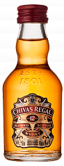 Виски Chivas Regal 12 y.o. blended scotch whisky<label>, 0.05л</label>