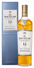 Виски The Macallan Triple Cask Matured 12 y.o. Highland single malt scotch whisky (gift box)<label>, 0.7л</label>