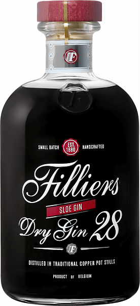 Filliers Dry Gin 28 Sloe Gin, 0.5л