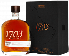 Ром Rum Mount Gay 1703 Old Cask (gift box)<label>, 0.7л</label>