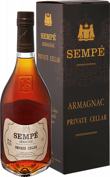 Sempe Private Cellar Armagnac (gift box), 0.7л