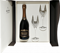 Drappier &quot;Grande Sendree&quot; (gift box with 2 glasses)<label>, 0.75л</label>