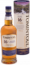 Tomintoul Speyside Glenlivet Single Malt Scotch Whisky 16 YO (gift box)<label>, 0.7л</label>