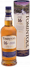 Виски Tomintoul Speyside Glenlivet Single Malt Scotch Whisky 16 YO (gift box)<label>, 0.7л</label>