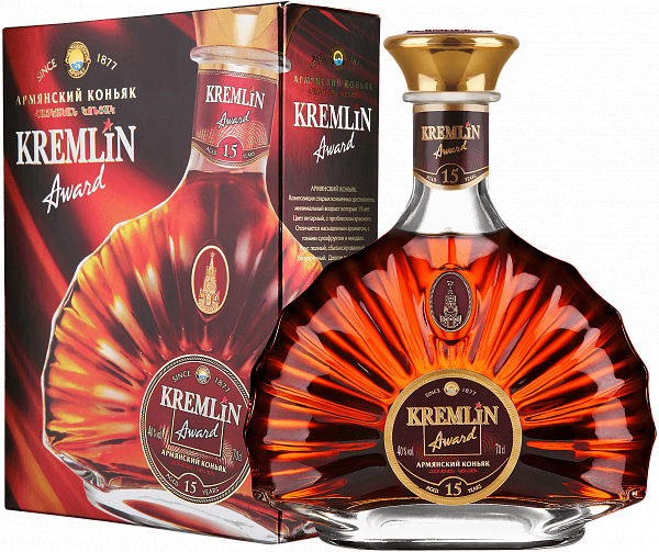 KREMLIN AWARD 15 Years (gift box), 0.7л