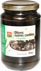 Продукты питания Pitted Black Olives Belle France