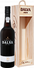 Портвейн Dalva Porto 10 years old C. Da Silva (gift box)<label>, 0.75л</label>