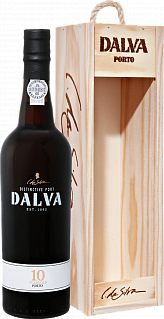 Dalva Porto 10 years old (gift box)<label>, 0.75л</label>