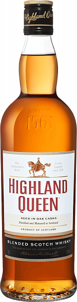 Highland Queen Blended Scotch Whisky, 0.7л