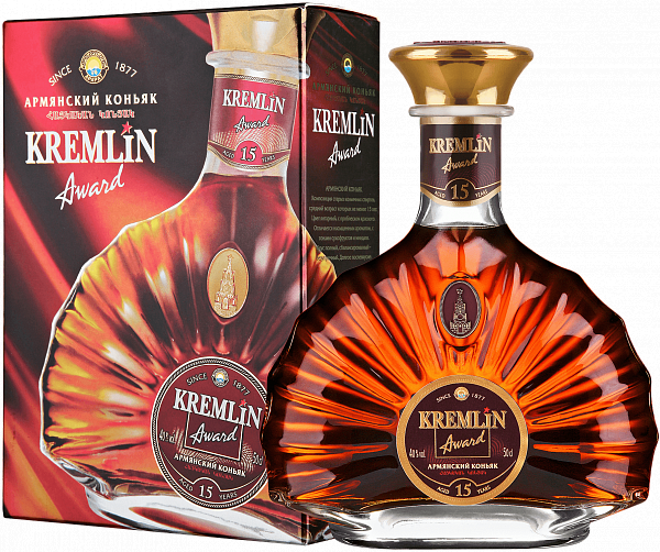 KREMLIN AWARD 15 Years (gift box), 0.5л