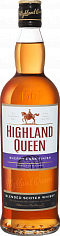 Виски Highland Queen Sherry Cask Finish Blended Scotch Whisky<label>, 0.7л</label>
