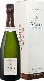 Mailly Grand Cru Brut Blanc de Pinot Noir Champagne АОС (gift box)<label>, 0.75л</label>