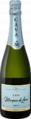 Игристое вино Marques de Lares Brut Cava DO Lopez Morenas<label>, 0.75л</label>