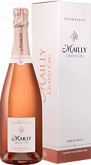 Подарочный алкоголь Mailly Grand Cru Rose de Mailly Brut Champagne AOC (gift box)<label>, 0.75л</label>