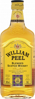 William Peel Scotch Blended Whisky<label>, 0.5л</label>