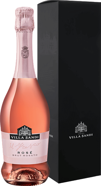 Villa Sandi Il Fresco Rose (gift box),  0.75л