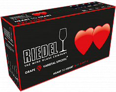Стекло Riedel Heart to Heart CABERNET (4 glasses set)<label>, 0.800л</label>