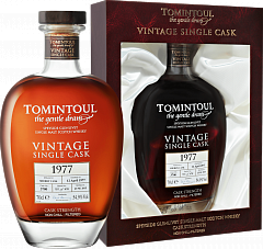 Tomintoul Speyside Glenlivet Single Sherry Cask Single Malt Scotch Whisky 1977 (gift box)<label>, 0.7л</label>