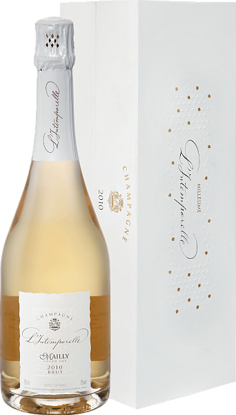 Mailly Grand Cru L'intemporelle Brut Millesime Champagne АОС (gift box),  0.75л