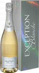 Игристое вино Mailly Grand Cru Exception Blanche Blanc De Blancs Millesime Champagne AOC (gift box)<label>, 0.75л</label>