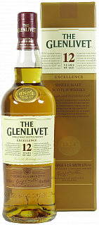 The Glenlivet 12 Years Old &quot;Excellence&quot; (gift box)<label>, 0.7л</label>