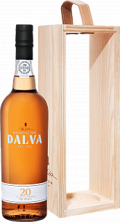 Dalva Porto white dry 20 years old C. Da Silva (gift box)<label>, 0.75л</label>