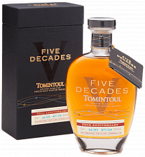 Tomintoul Speyside Glenlivet Five Decades Single Malt Scotch Whisky 10 YO (gift box)<label>, 0.7л</label>