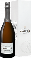 Drappier Brut Nature Zero Dosage Champagne AOP in gift box<label>, 0.75л</label>