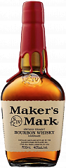 Виски Maker's Mark Kentucky Straight Bourbon Whisky<label>, 0.7л</label>