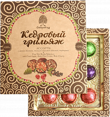 Продукты питания Pine Nut Brittle Selection Siberian Cedar