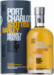 Bruichladdich Port Charlotte Scottish Barley single malt scotch whisky (gift box)<label>, 0.7л</label>