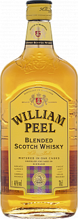 William Peel Scotch Blended Whisky<label>, 0.7л</label>