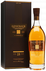 Виски Glenmorangie Extremely Rare 18 y.o. single malt scotch whisky (gift box)<label>, 0.7л</label>
