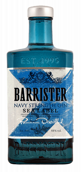 Barrister Navy Strenght Gin, 0.7л