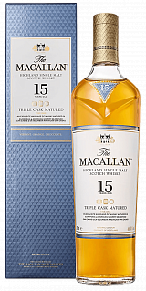 Macallan Triple Cask 15 Years Old (gift box)<label>, 0.7л</label>