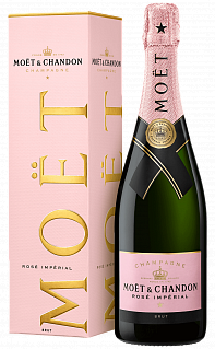 Imperial Brut Rose Moet & Chandon (gift box)<label>, 0.75л</label>
