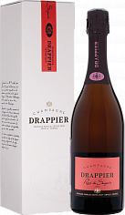 Подарочные наборы Drappier Brut Rose Champagne AOP in gift box<label>, 0.75л</label>