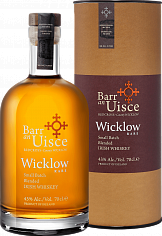 Виски Barr an Uisce Wicklow Rare Small Batch Blended Irish Whiskey 4 YO (gift box)<label>, 0.7л</label>