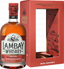 Виски Lambay Single Malt Irish Whiskey 5 YO (gift box)<label>, 0.7л</label>