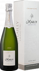 Игристое вино Mailly Grand Cru Extra Brut Millesime Champagne АОС (gift box)<label>, 0.75л</label>