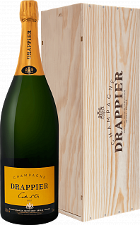 Drappier Carte d'Or Brut Champagne AOP in gift box<label>, 3л</label>