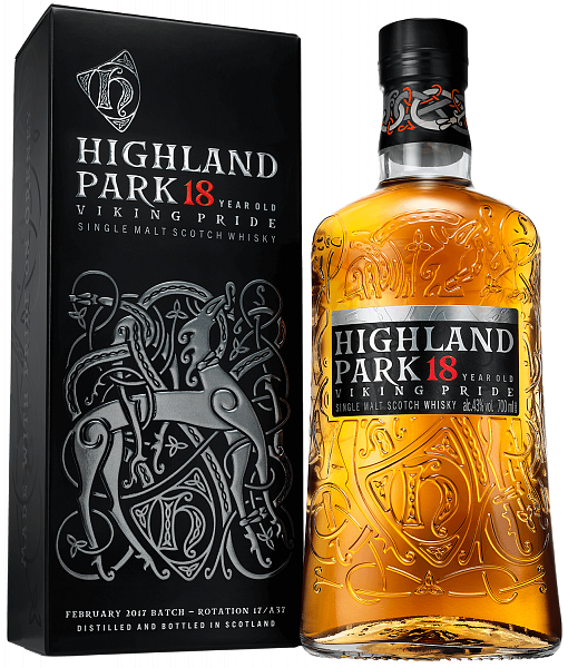Highland Park Single Malt Scotch Whisky 18 y.o. (gift box), 0.7л