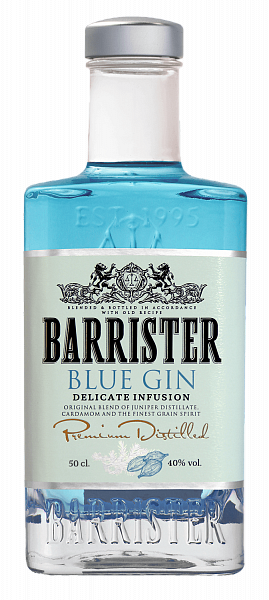 Barrister Blue Gin, 0.5л