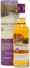 Виски Tomintoul Speyside Glenlivet Single Malt Scotch Whisky 10 YO (gift box)<label>, 0.35л</label>