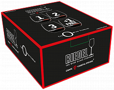 "Стекло Riedel ""O"" Cabernet ""Buy 3 Get 4"" (4 glasses set)"