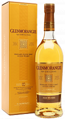 Подарочный алкоголь Glenmorangie The Original 10 years single malt scotch whisky (gift box)<label>, 0.5л</label>