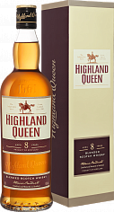 Виски Highland Queen 8 yo Blended Scotch Whisky<label>, 0.7л</label>