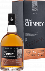 Виски Peat Chimney Batch Strength Wemyss Malts (gift box)<label>, 0.7л</label>
