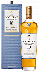 Виски The Macallan Triple Cask Matured 18 y.o. Highland single malt scotch whisky (gift box)<label>, 0.7л</label>