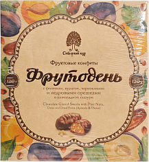Продукты питания Chocolate Glazed Sweets with Pine Nuts and Dried Fruits Siberian Cedar